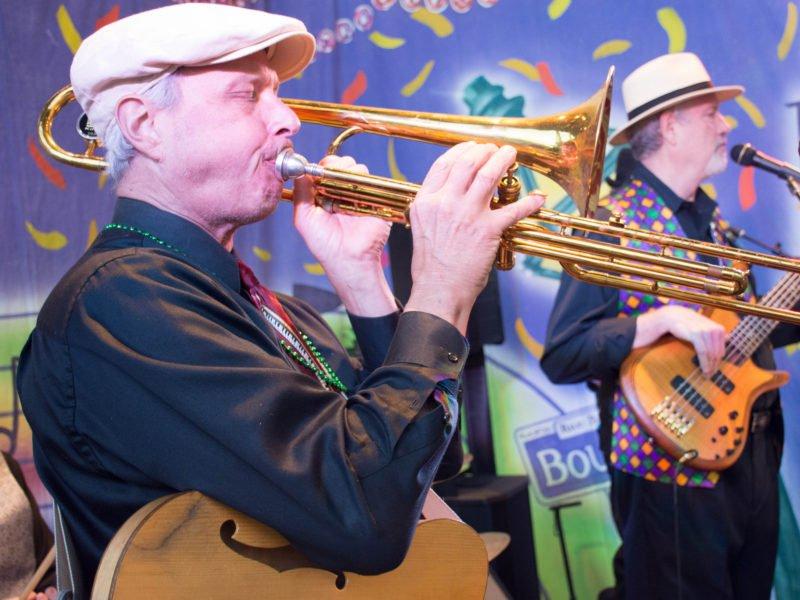 Atlanta New Orleans Jazz and Zydeco Band, Trombone
